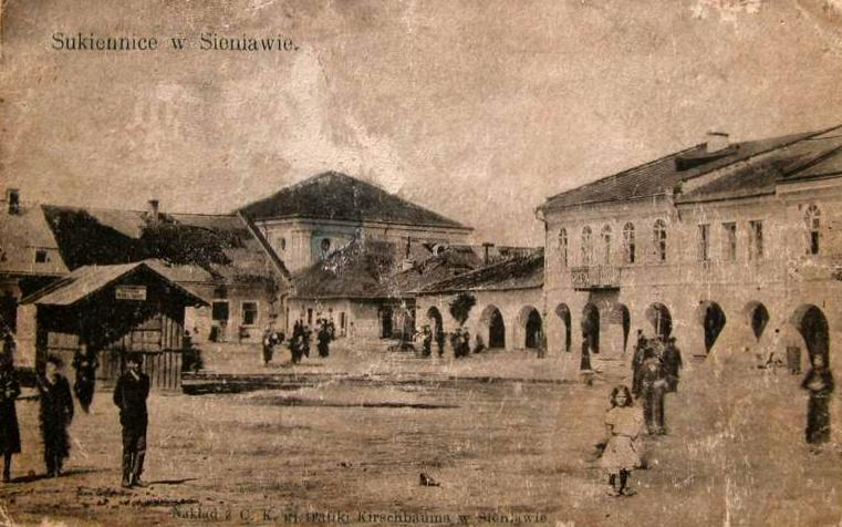 The market square in Sieniawa