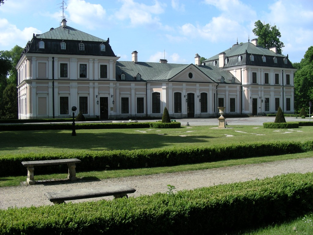 The Czartoryski palace in Sieniawa