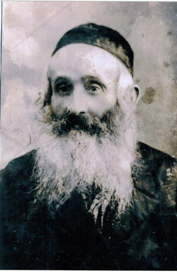 Natan Hollender - the Rabbi of Mszana, died in 1938