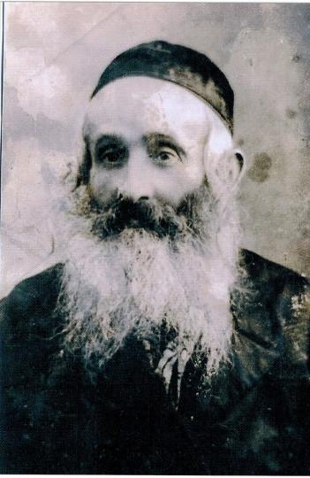 Natan Hollender - the Rabbi of Mszana, died in 1938